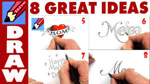 8 great ideas for mother u0027s day cards youtube