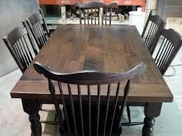 Casual Dining Room Table Sets Stunning Walnut Dining Room Set Ideas Home Design Ideas