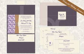 pocket fold floral paisley 01 pocket fold wedding invitation kalidad prints
