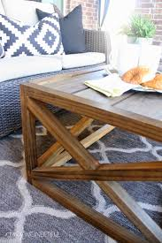Diy Coffee Tables by Diy Outdoor Coffee Table With Storage Crazy Wonderful
