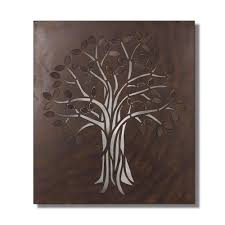 39 in x 29 in tree metal wall decor dn0026 the home depot rectangular metal wall decor