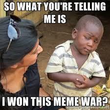 Meme War - 2017 meme war becker science