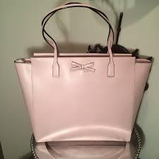 light pink kate spade bag kate spade handbags nwt kate spade pale pink zip tote poshmark