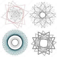 linear geometric designs u2014 stock vector ashleynomad 70266641