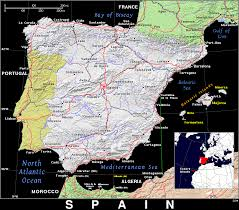 Spain Map Es Spain Public Domain Maps By Pat The Free Open Source