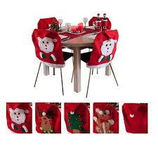 santa chair covers 2015 new santa claus chair covers christmas cloth dining