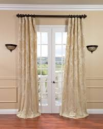 White Silk Curtains Drapes Curtains Chagne Silk Curtain Panels White Silk Curtains