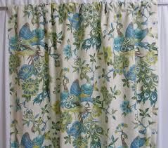 aqua mist bird curtains chartreuse bird window curtains bird
