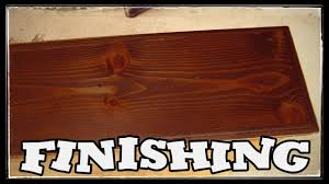 what stain looks on pine conditioning and staining pine