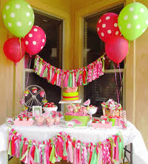Fairy Garden Party Ideas by Diy Birthday Decoration Homemade Decorations For Girls Birthday