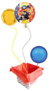 balloon delivery service postman pat special delivery service foil balloon postman