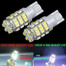 2x t10 168 6000k xenon white 42led backup lights bulbs ebay