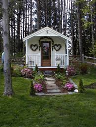 Little Houses Song The Cutest She Shed 10x16 Cottage Includes Quaint Porch Recently