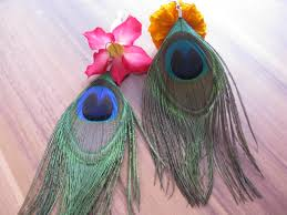 peacock feather earrings chanel jewelry images peacock feather earrings handmade wallpaper