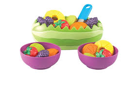 Kitchen Play Accessories - learning resources new sprouts fresh fruit salad set 1499066