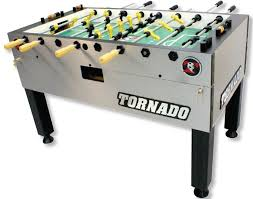 space needed for foosball table tornado foosball tables new and used parts