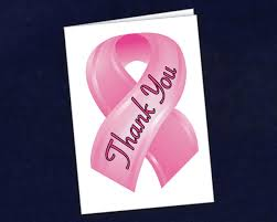 small pink ribbon cards thank you pink ribbon cards wholesale