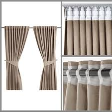 Ikea Beige Curtains Bnip Ikea Blekviva Beige Curtains Home Furniture On Carousell