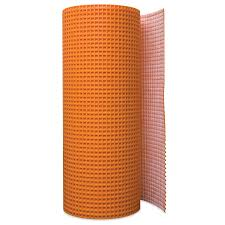 shop schluter systems ditra 54 sq ft orange plastic waterproofing