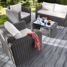 canapé de jardin castorama salon de jardin castorama table et chaise de jardin en resine pas