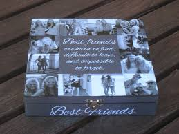 best engraved gifts best friends photo collage keepsake box unique of honor