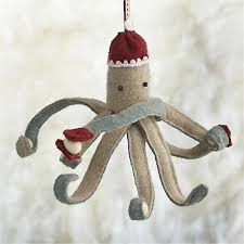 bundled up in a cap and mittens this clever octopus has