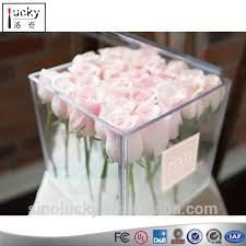 flowers in a box acrylic flowers display box acrylic flowers display box suppliers
