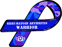 ra ribbon custom ribbon rheumatoid arthritis warrior arthritis blood