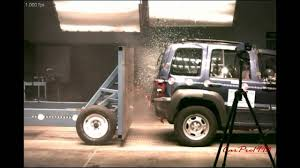 crashed jeep liberty jeep nhtsa crash test compilation 1978 2014 youtube