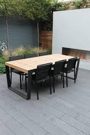 Teak Floor Tiles Outdoors by Teak Outdoor Dining Furniture Comfortable Outdoor Dining