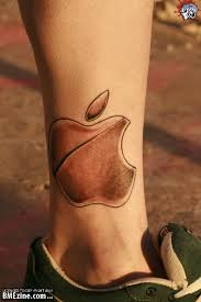 apple tattoo tattoosphoto