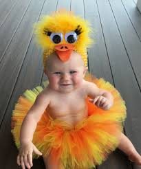 Baby Duck Halloween Costume Halloween Delivery Guaranteed Rubber Ducky Tutu Costume