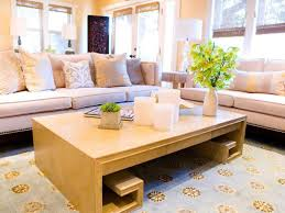 Best Coffee Tables For Small Living Rooms Floor Planning A Small Living Room Hgtv
