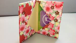 make a gift card origami gift card holder for back to school shopping