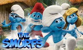 smurfs movie storybook
