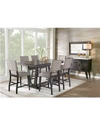 black counter height table set big deal on hill creek black 5 pc counter height kitchen table set