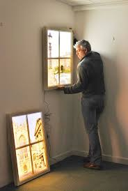 artificial windows for basement fake windows for basement decorating ideas