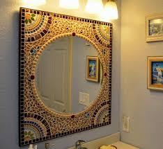 Mosaic Bathroom Mirrors by Mosaic Bathroom Mirror Best Quality Kitchen Cabinets California