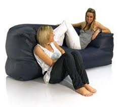 faux leather sherwood bean bag couch 139 99