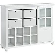 White Storage Cabinet Ameriwood Home Reese Park Storage Cabinet White