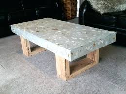 outdoor wood coffee table polished concrete outdoor furniture like this item polished concrete