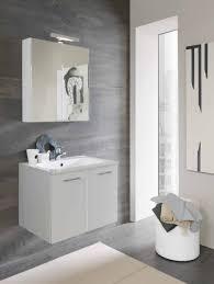 armadietto bagno con specchio mobile bagno moderno l 70 cm base lavabo 2 ante e specchio