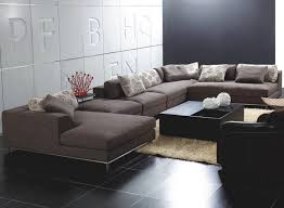 Modern Couches And Sofas Fascinating U Shaped Sectional Sofas 123 Sofa Sectionals Canada