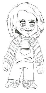 chucky coloring page coloring pages surprising chucky doll coloring pages printable