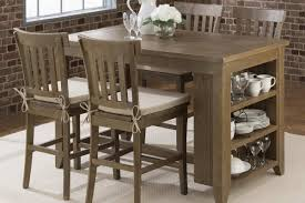 jofran slater mill counter height dining table u0026 stool set 941
