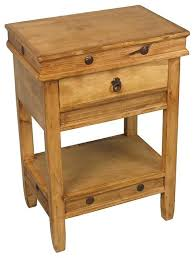 Pine End Tables Innovative Rustic Pine Nightstand Rustic Pine Side Table