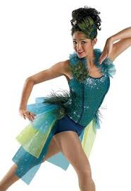 Jazz Dancer Halloween Costume Bird Tail Skirt Bird Costumes Dancers