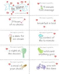 last minute valentine free coupon book printable coupons gift