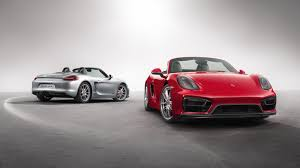 porsche boxster widebody meet the new porsche boxster and cayman gts 6speedonline
