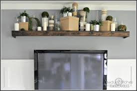 wooden shelves ikea remodelaholic turn an ikea shelf into a pottery barn ledge